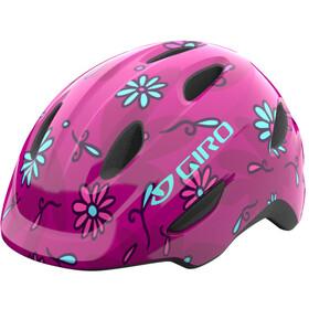 Giro Scamp MIPS Fietshelm Kinderen, pink street sugar daisies